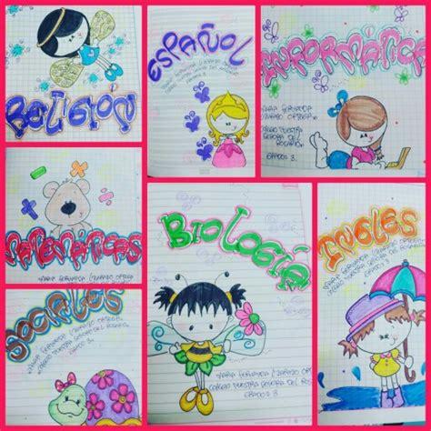 decoracion de cuadernos decoracion de letras school notebooks lettering styles y caligraphy