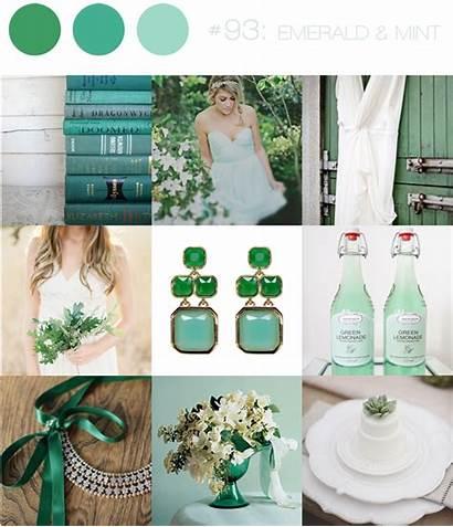 Emerald Mint Mood Board Inspiration Boards Tips