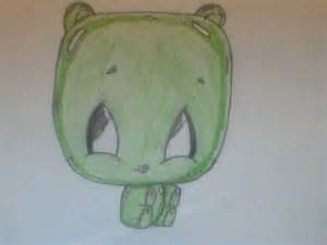 Cute Cartoon Gummy Bear Drawing