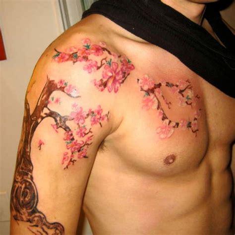 cherry blossom tattoo men amazing japanese cherry blossom