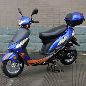 50cc Gas Scooter Moped Express With Auto Transmission