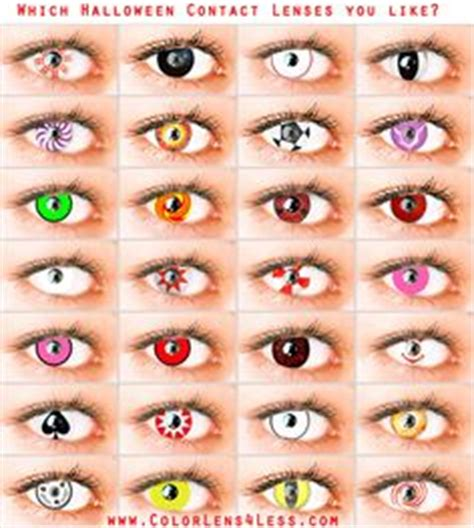 Non Prescription Colored Contacts Halloween by 1000 Images About Crazy Contact Lens On Pinterest