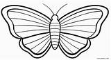 Butterfly Coloring Printable Pages sketch template