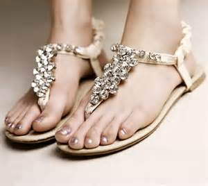 wedding shoes sandals flat sandal wedding shoes in gold color ipunya