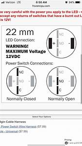Vandal Switch Wiring  According To The Image Below  As