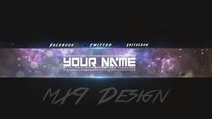 Speedart  Free Amazing Youtube Channel Banner Template  3