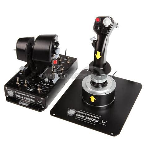 thrustmaster hotas warthog joystick throttl ocuk