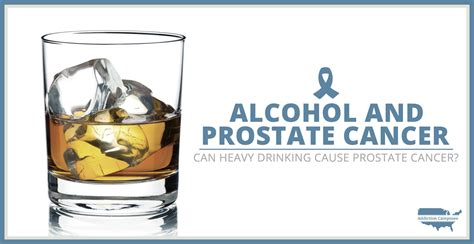 alcohol  prostate cancer heavy drinking