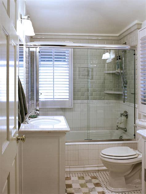 traditional small bathroom  hgtv