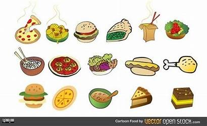 Cartoon Vector Party Faces Foods Graphics Icon