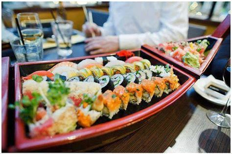 Sushi Boat Menu by Fresh Sushi Boat Picture Of Crave Restaurant Orlando