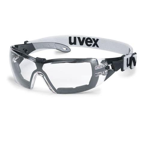 schutzbrille mit sehstärke uvex uvex schutzbrille pheos guard mit abnehmbarem kopfband
