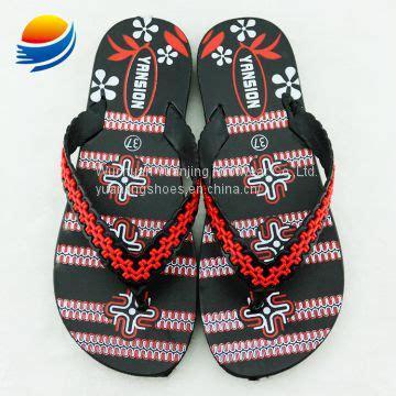 ladies chappal designs flat sandals pvc slippers