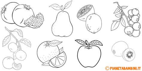 disegni  frutta invernale da colorare pianetabambiniit