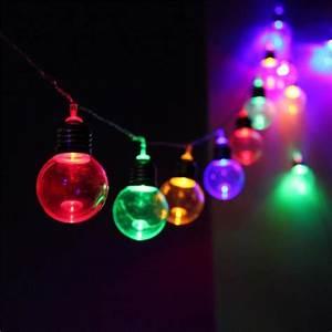 Guirlande Lumineuse Boule Exterieur : 10m 20led guirlande lumineuse boule lumi re ext rieur no l mariage prise eu multicolore achat ~ Preciouscoupons.com Idées de Décoration