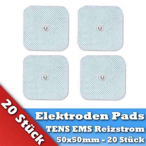 tens elektroden pads fuer omron hydas prorelax axion ems