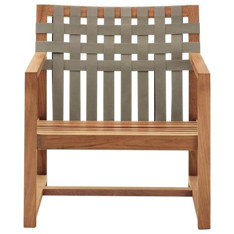 roda network  lounge chair  teak  outdoor