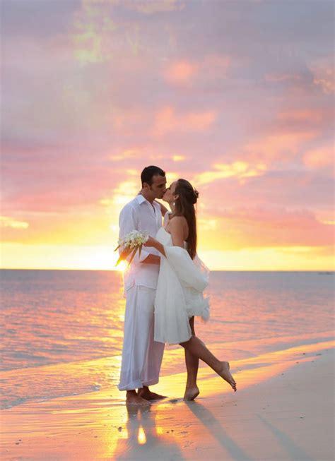 sunset beach wedding photography pinterest