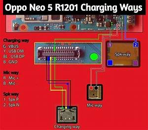 Oppo Neo 5 R1201 Charging Ways Problem Jumper Usb Jumper