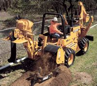 buying file gallery chain trenchers construction equipment