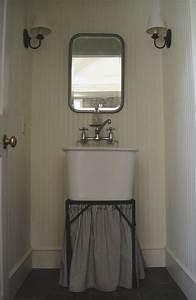 Frugal, Farmhouse, Design, Old, Laundry, Sink, I, Half, Bath