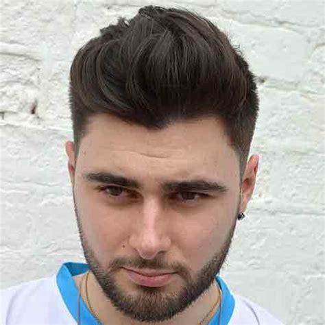 los mejores peinados  los hombres  caras redondas