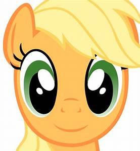 Applejack Face (Vector) by MaybyAGhost on DeviantArt