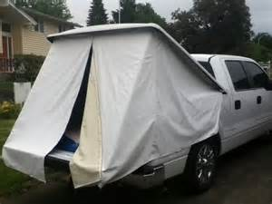 Truck Bed Tonneau Cover Tent