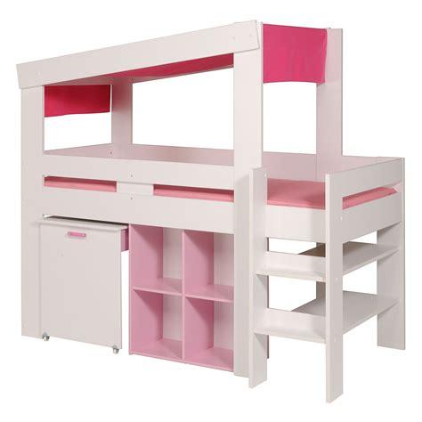 bureau fille pas cher lit enfant combin avec bureau pas cher vera mobilier lit