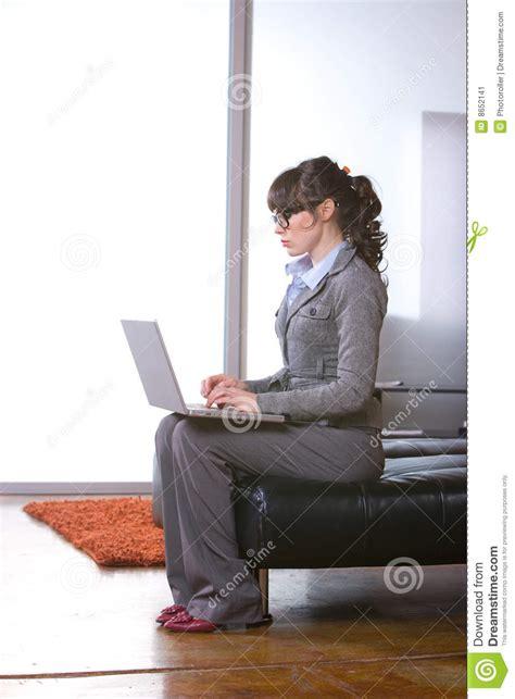 affaires de bureau femme moderne de bureau d 39 affaires image stock image