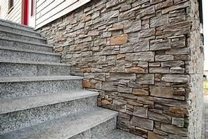 Verblender Kunststoff Außen : haussockel backes schiefer naturstein ~ Michelbontemps.com Haus und Dekorationen