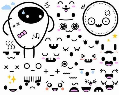 Faces Japanese Clipart Japan Face Clip Transparent