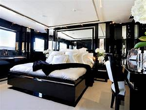 Bedroom Unique Modern Black and White Bedrooms with Black