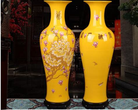 Big Gold Vase by Big Gold Vase Peony Flowers Sitting Room Be Born A New