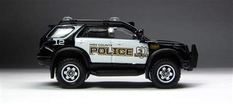 golden age  matchbox black white police cars