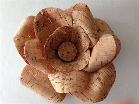 Hometalk   Cork Ribbon Flowers