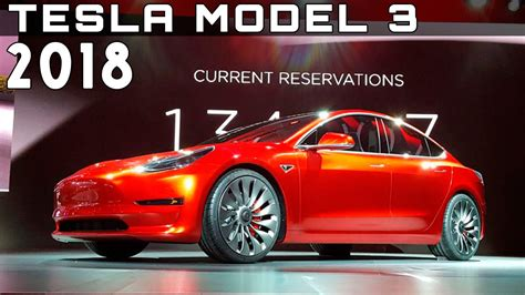 Electric Car Price by New Tesla Model 3 Electric Car Price Specs