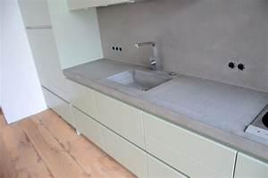Arbeitsplatte Beton Cire : kuhinja pult art dizajn ~ Michelbontemps.com Haus und Dekorationen