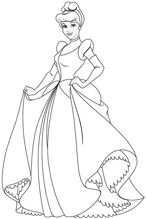ideas  princess coloring pages  pinterest