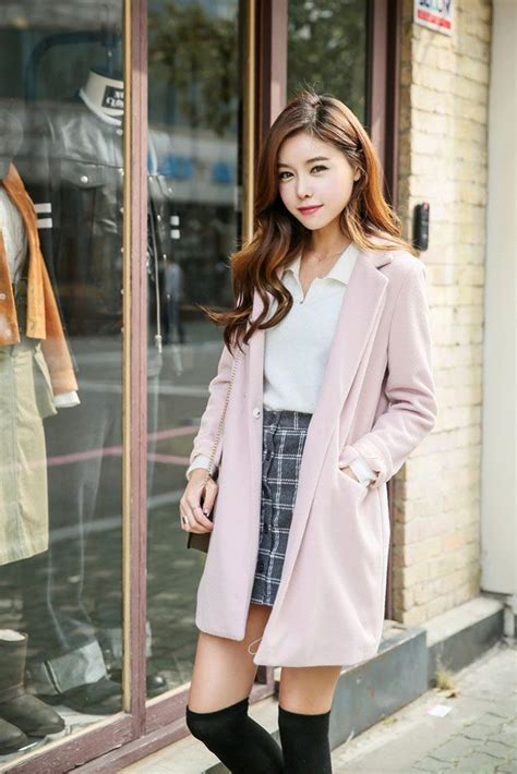 529 best Korean Fashion Jackets images on Pinterest | Korean fashion Korean fashion styles and ...