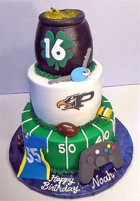 boys sports birthday cakes hands  design cakes