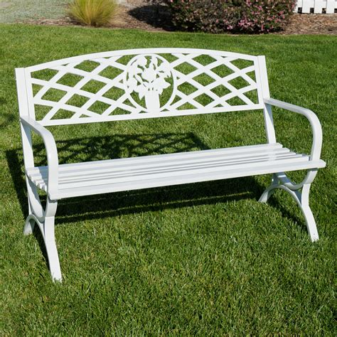 park benches for 50 quot inch outdoor park bench garden backyard chair porch