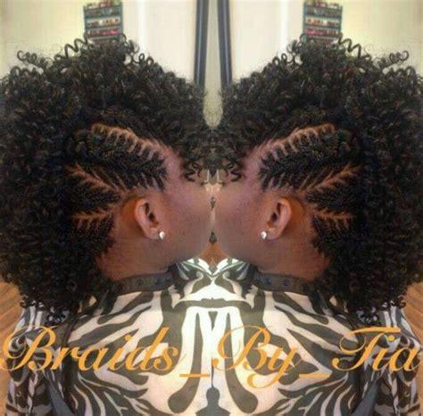 fishbone mohawk natural hair updo natural hair styles