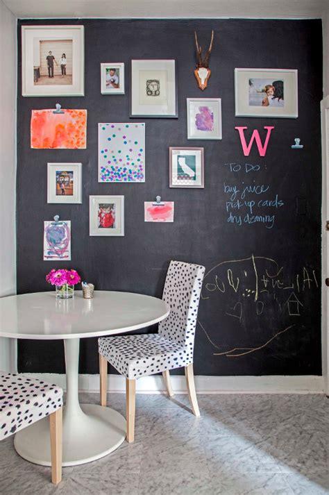 chalkboard kitchen wall ideas amazingly easy diy chalk board walls for your