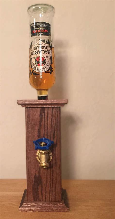 pedestal liquor dispenser  theshopofhardknots  etsy