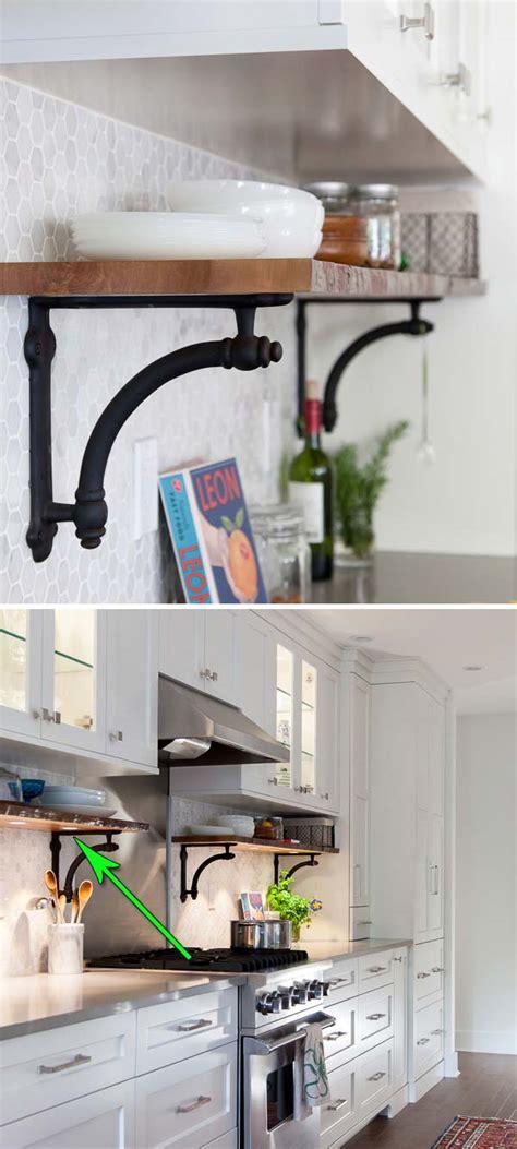interesting  practical shelving ideas   kitchen amazing diy interior home design