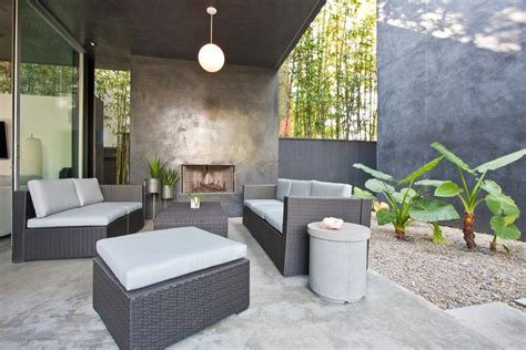 Modern Outdoor Fireplace Patio Midcentury With Seating Tantra Chair For Sale Pink Adirondack Chairs Rocking Grey Leather Dining Rentals Newark Nj Tobias Ikea Geri Recliner Antique Mahogany Desk