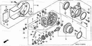 Honda Motorcycle 2005 Oem Parts Diagram For Final Driven