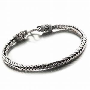 Bracelet En Argent Homme : bracelet snake palmier en argent massif mylittlefantaisie ~ Carolinahurricanesstore.com Idées de Décoration