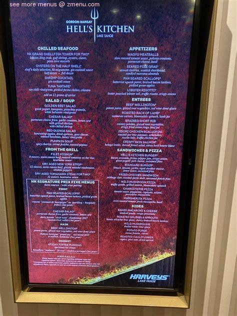 menu  gordon ramsay hells kitchen lake tahoe